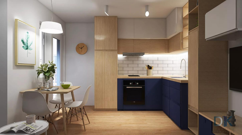 кухня в нестандартни цветове