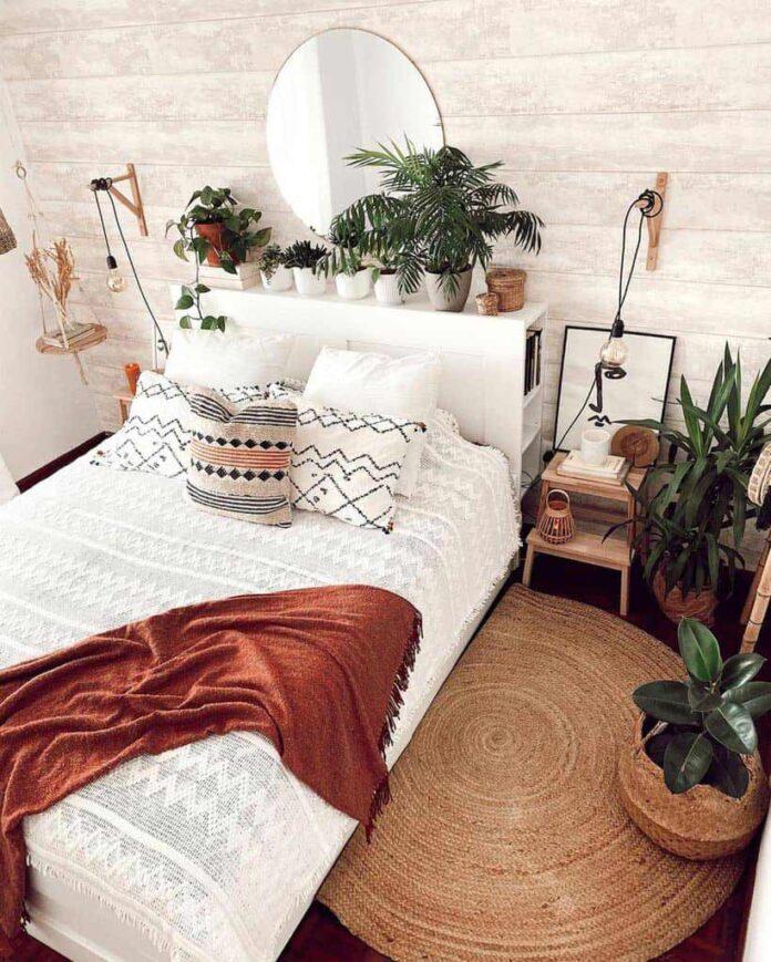 спалня Бохо